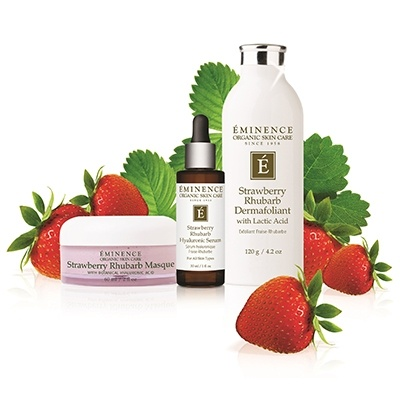 Eminence Organic Strawberry Rhubarb Products