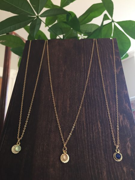 Subject II Change Necklaces are now available at Aspasia's Studio in Campbellville