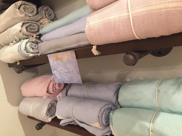 Stray & Wander Turkish Towels available at Aspasia's Studio in Campbellville