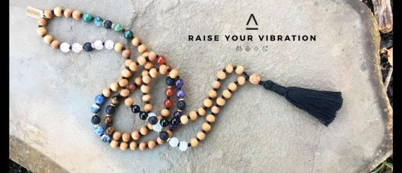 Tassion Inc. Raise Your Vibration | Mala Necklaces